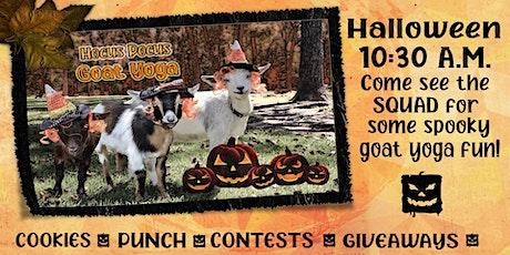 Hocus Pocus Goat Yoga tickets