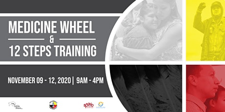 Virtual Medicine Wheel/12 Steps Training tickets