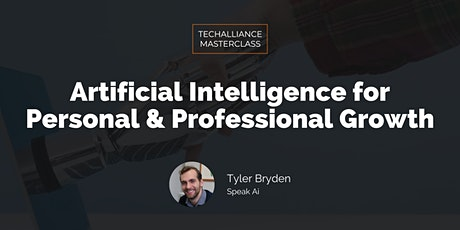 Masterclass   Artificial Intelligence For Personal & Professional Growth tickets