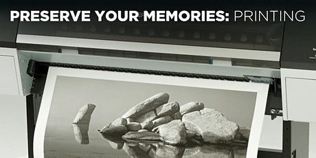 Preserve Your Memories: Printing w/Mat Marrash (Online) tickets