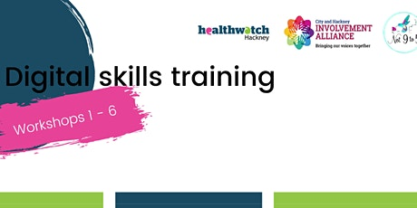 Digital Skills Training- Workshops 1 to 6 tickets