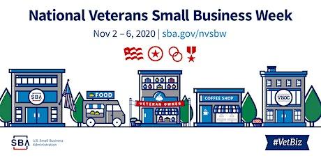 VetBiz Event - SBA Resources  to help build your own #VetBiz tickets
