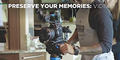 Preserve Your Memories: Video w/Mat Marrash (Online)