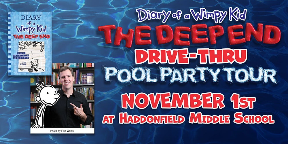 Diary Of A Wimpy Kid Drive Thru Pool Party Tour With Jeff Kinney Tickets Sun Nov 1 2020 At 9 00 Am Eventbrite