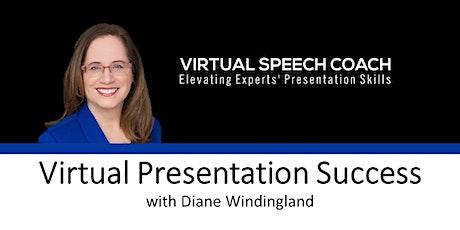 Virtual Presentation Success Training (via Zoom) tickets