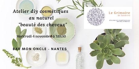 """Atelier cosmétiques diy beauté des cheveux """"shampoing douceur d'avoine"""" billets"""