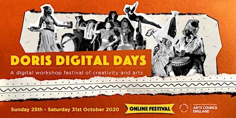 Doris Digital Days: Online Workshop Festival tickets