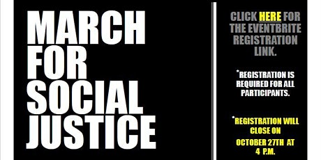 March for Social Justice tickets