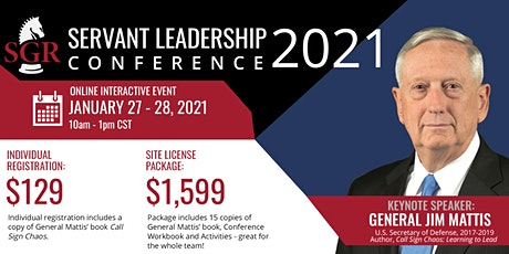 Servant Leadership Conference 2021 tickets