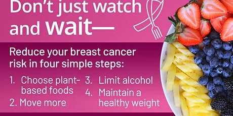 Foods and Breast Cancer Survival tickets
