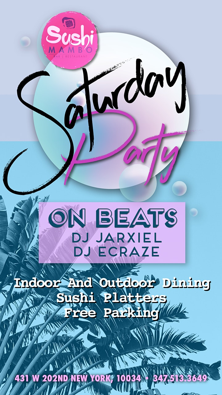 Beats On! Saturday Dj Party image