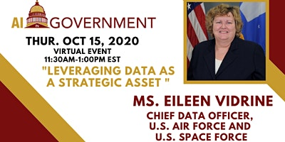 AI in Gov: Eileen Vidrine, Chief Data Officer US Air Force & US Space Force