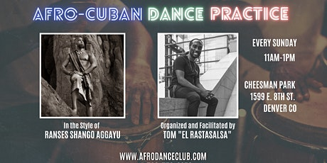 Afro Cuban - Dance Practice in the Park tickets