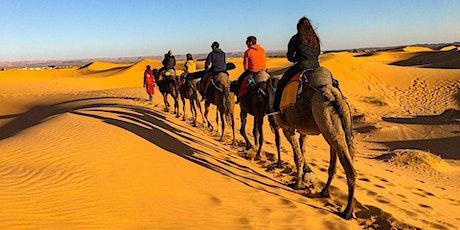 Sahara Desert Tour & Marrakech, Morocco - 3rd to 7th Feb 2021 billets