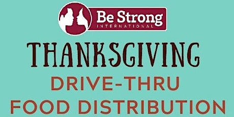 Thanksgiving Drive-thru Food Distribution 2020 tickets