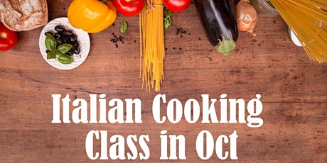 FREE Italian Online Cooking Class - 10/29 tickets
