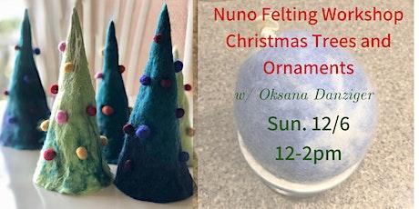 Felting Christmas Ornament Workshop tickets
