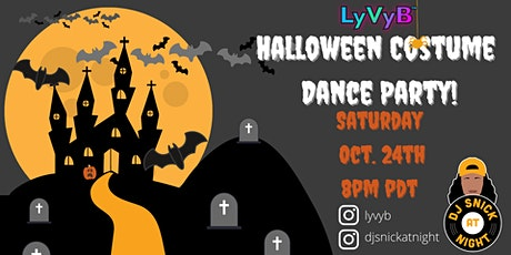 LyVyB presents A Halloween Costume Dance Party tickets