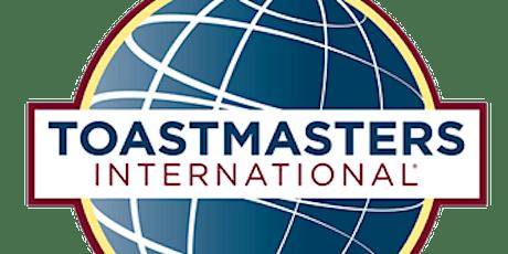 2020-2021  Toastmasters Club Meetings tickets