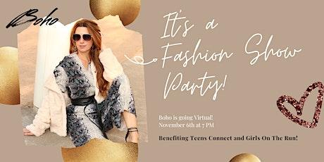 Virtual Fall Fashion Show Fundraiser tickets