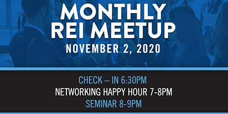 Heels Homes Monthly REI Meetup tickets