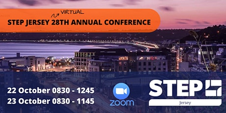 STEP Jersey Virtual 28th Annual International Conference 22 and 23 October tickets