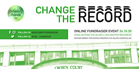 Solidarity Sounds UK presents: Change The Record, Online Fundraiser Event tickets