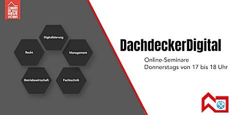 Cyberversicherung für Dachdeckerbetriebe: Mit uns sicher in die Zukunft! Tickets