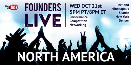 Founders Live Prime Time: Round 4 - North America tickets