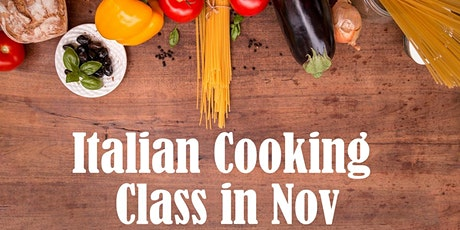 FREE Italian Online Cooking Class - 11/14 tickets