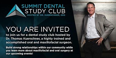 Dental Study Club-1/21 tickets