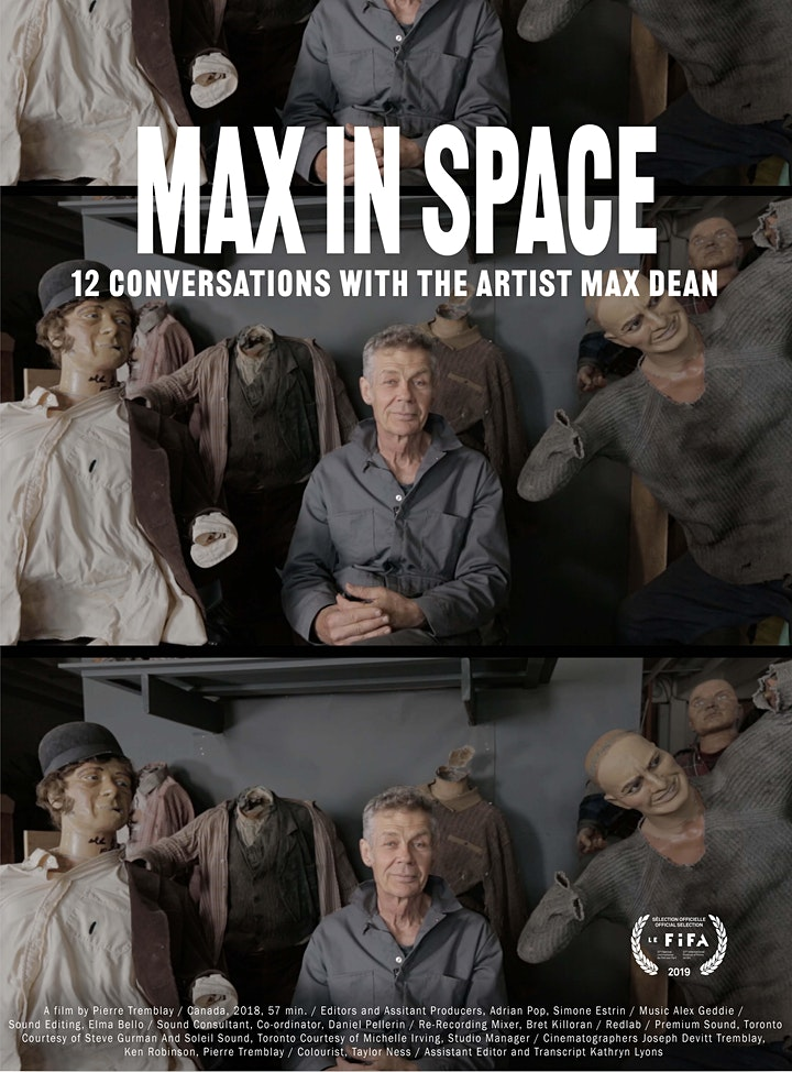 Max In Space – 12 Conversations with the Artist Max Dean image