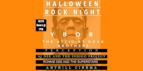 Halloween Rock Night! Feat AJ Dee, Ronnie Dee, Anthill Cinema, Perception tickets