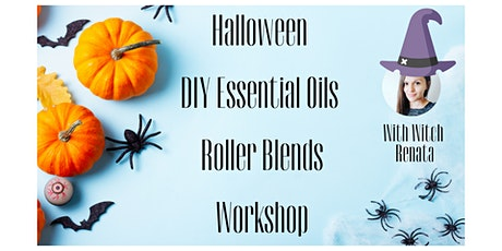 Halloween DIY Essential Oils Roller Blends Workshop tickets