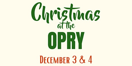 Christmas at the Opry tickets