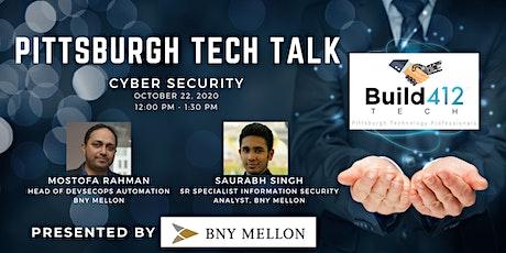 Pittsburgh Tech Talk - DevSecOps Automation tickets