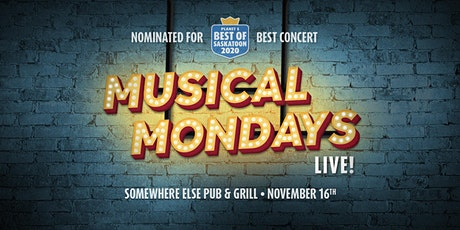 Musical Mondays at Somewhere Else Pub and Grill tickets