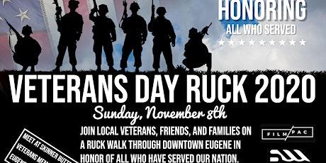 3rd Annual Veteran's Ruck Eugene Ruck tickets