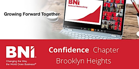 BNI Confidence (Virtual) Visitor Registration-Brooklyn Heights Networking tickets