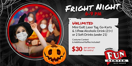 Fright Night at Hilltop Fun Center! (Adults 18+) tickets
