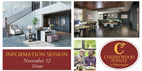 Cherrywood Pointe of Bloomington Information Session 10AM tickets