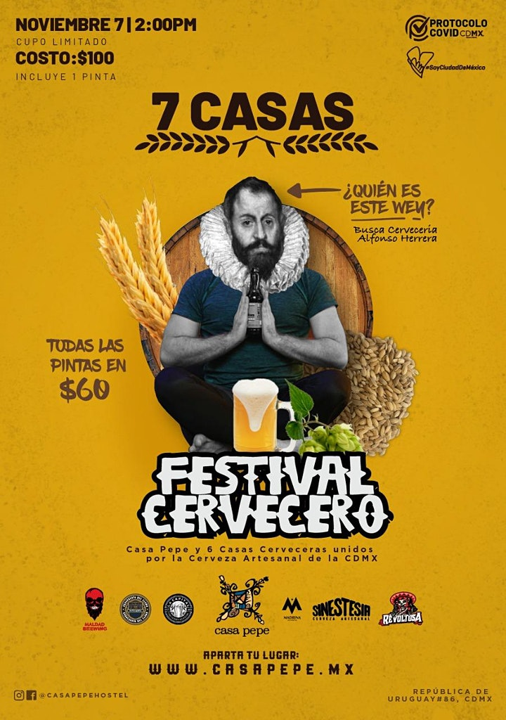 Imagen de Festival cervecero 7 CASAS