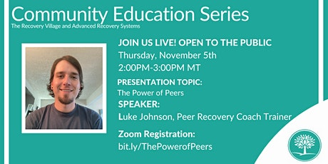 Community Education Series: The Power of Peers tickets