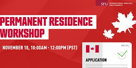 Pathways to Permanent Residence for International Students tickets