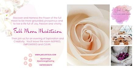 ENERGY HEALING FULL MOON MEDITATION tickets