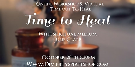 Time to Heal Workshop tickets