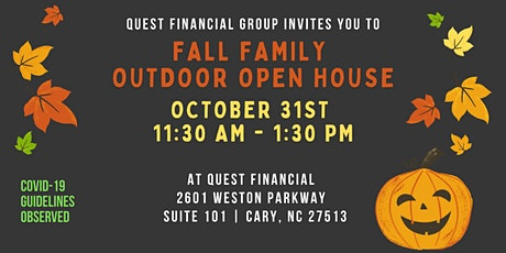 Quest Financial Group's Fall Family Outdoor Open House tickets