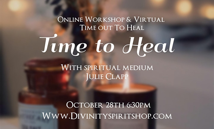 Time to Heal Workshop image