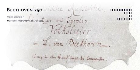 Beethoven 250 - Volkslieder tickets