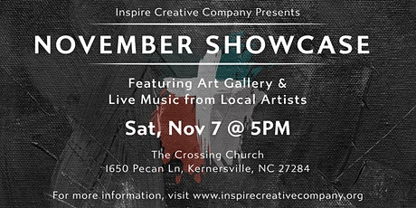 November Showcase tickets